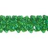Sequin Stretch 3-row Hologram Green